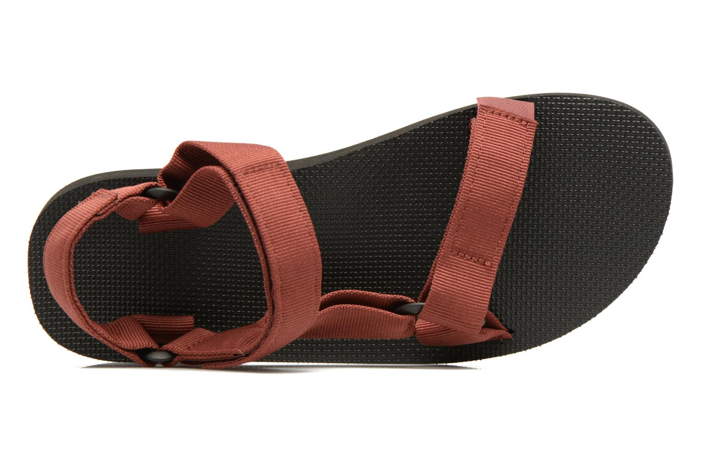 Sandales et nu-pieds Teva Original universal Rouge vue gauche