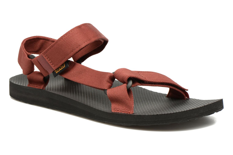 Sandales et nu-pieds Teva Original universal Rouge vue détail/paire