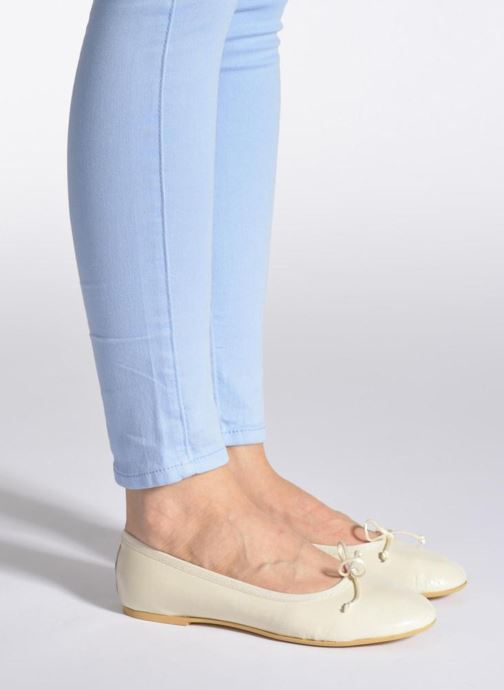 Ballet pumps Sweet Lemon L.18.RABLA Blue view from underneath / model view