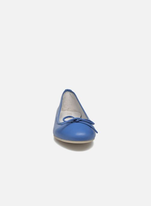 Ballerines Sweet Lemon L.18.RABLA Bleu vue portées chaussures