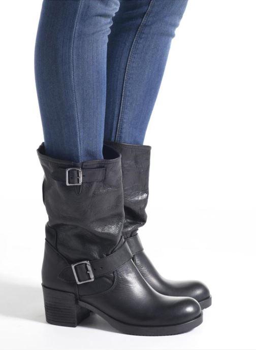 Bottines et boots Sweet Lemon L.5.ECONO Noir vue bas / vue portée sac