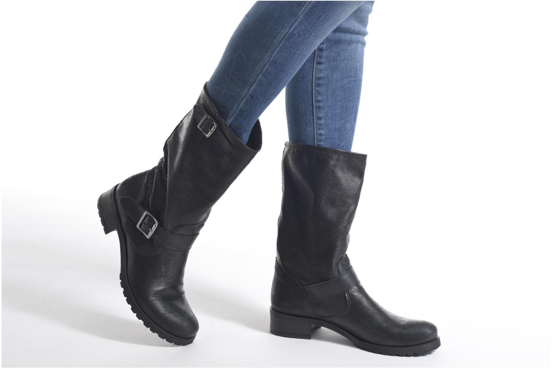 Bottines et boots Sweet Lemon L.5.ECOBI Noir vue bas / vue portée sac