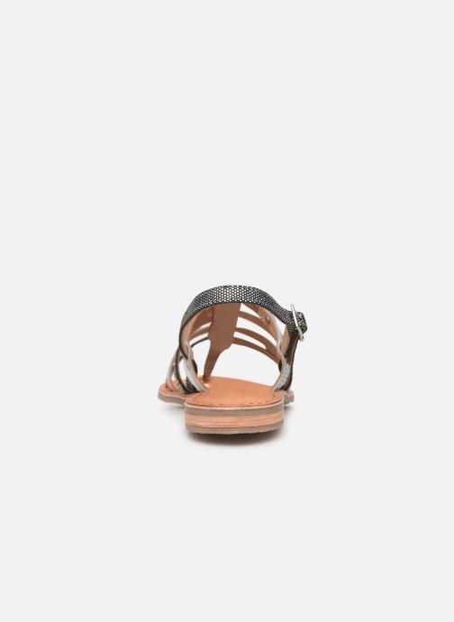 Sandals Les Tropéziennes par M Belarbi Bianca Grey view from the right