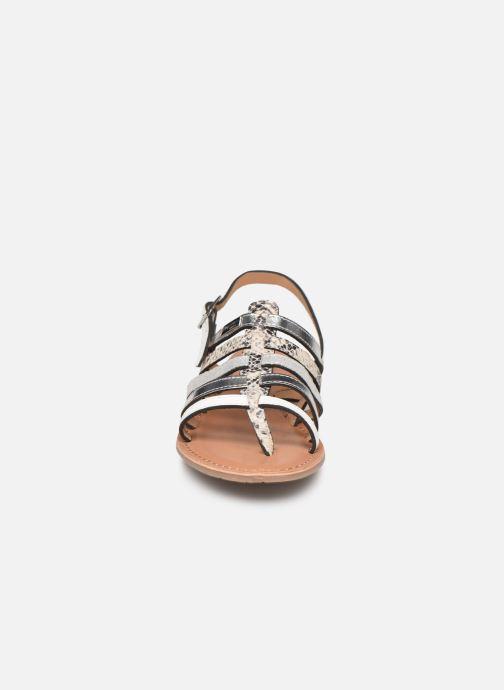 Sandales et nu-pieds Les Tropéziennes par M Belarbi Bianca Blanc vue portées chaussures