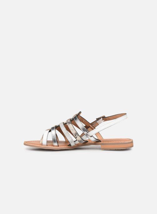 Sandales et nu-pieds Les Tropéziennes par M Belarbi Bianca Blanc vue face