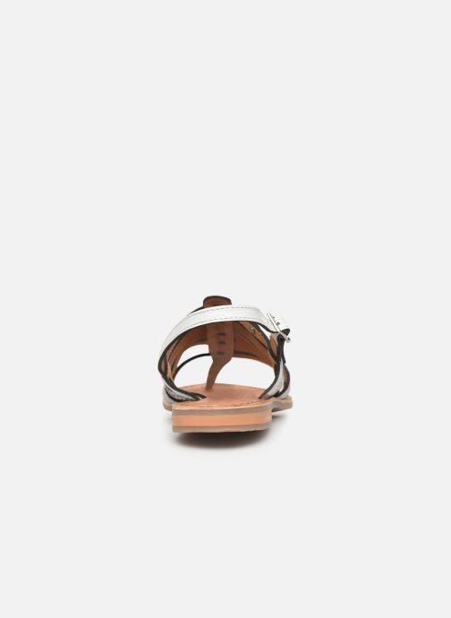 Sandales et nu-pieds Les Tropéziennes par M Belarbi Bianca Blanc vue droite