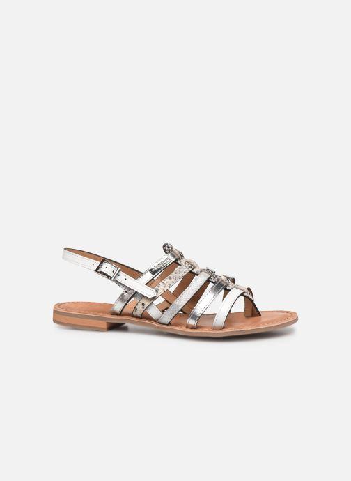 Sandales et nu-pieds Les Tropéziennes par M Belarbi Bianca Blanc vue derrière