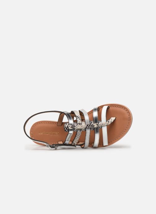 Sandales et nu-pieds Les Tropéziennes par M Belarbi Bianca Blanc vue gauche