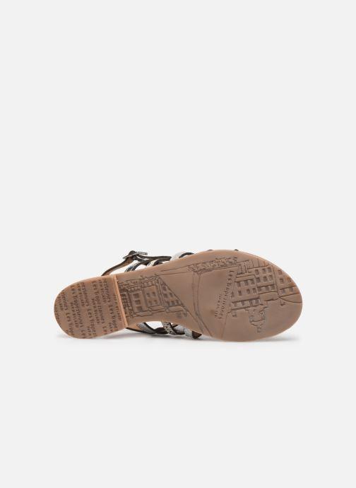 Sandales et nu-pieds Les Tropéziennes par M Belarbi Bianca Blanc vue haut