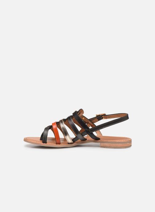 Sandales et nu-pieds Les Tropéziennes par M Belarbi Bianca Orange vue face
