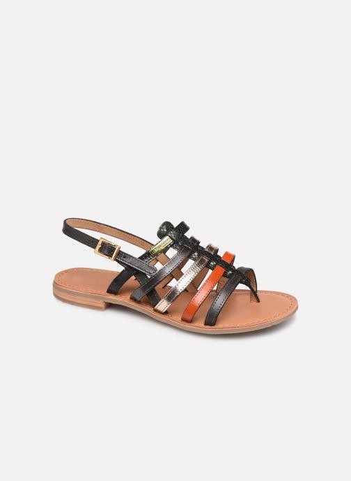 Sandales et nu-pieds Les Tropéziennes par M Belarbi Bianca Orange vue détail/paire