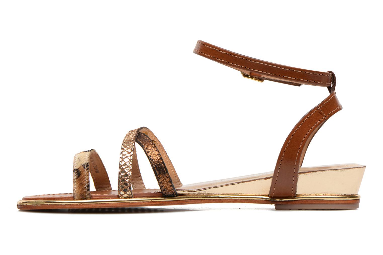 Sandales et nu-pieds Les Tropéziennes par M Belarbi Bianca Multicolore vue face