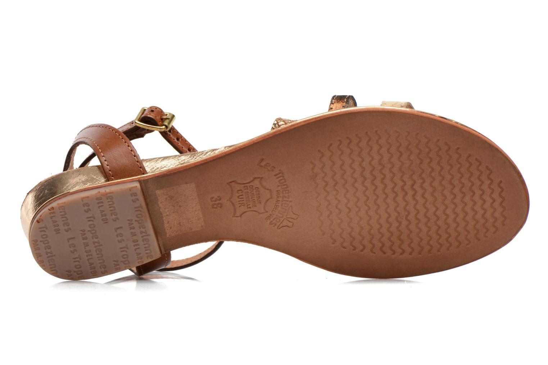 Sandales et nu-pieds Les Tropéziennes par M Belarbi Bianca Multicolore vue haut
