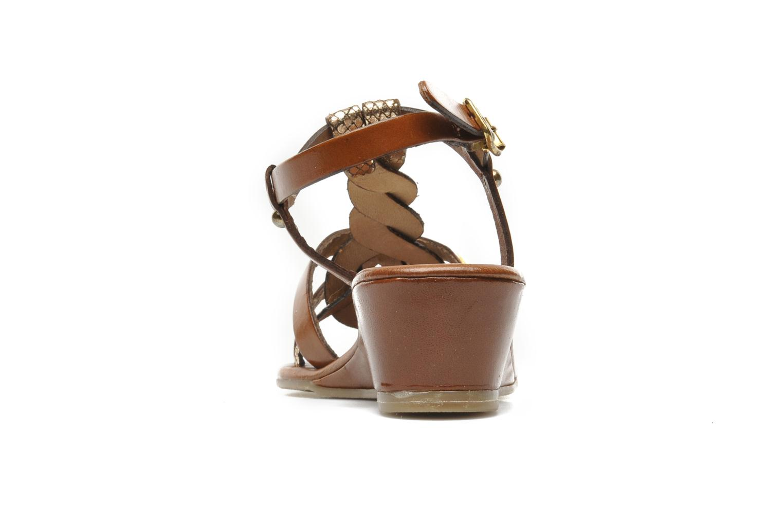 Sandali e scarpe aperte Les Tropéziennes par M Belarbi Bilboa Marrone immagine destra