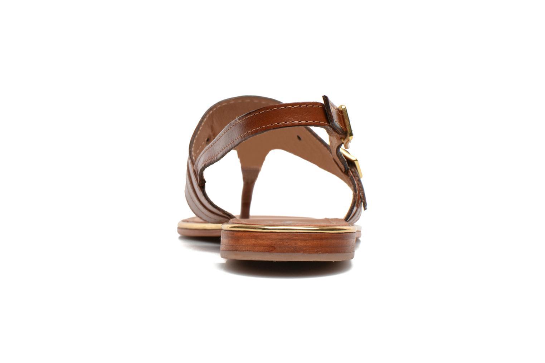 Sandales et nu-pieds Les Tropéziennes par M Belarbi Bebop Marron vue droite
