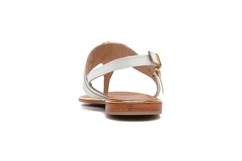Sandales et nu-pieds Les Tropéziennes par M Belarbi Bebop Blanc vue droite