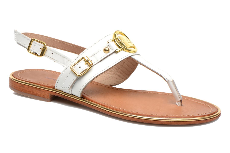 Sandales et nu-pieds Les Tropéziennes par M Belarbi Bebop Blanc vue détail/paire