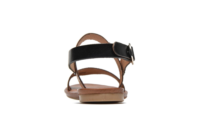 Sandales et nu-pieds Les Tropéziennes par M Belarbi Biniou Marron vue droite