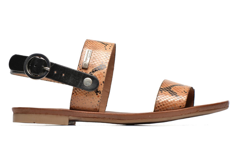 Sandales et nu-pieds Les Tropéziennes par M Belarbi Biniou Marron vue derrière