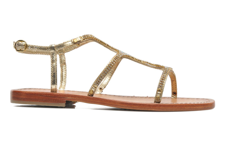Sandales et nu-pieds Les Tropéziennes par M Belarbi Louise Or et bronze vue derrière