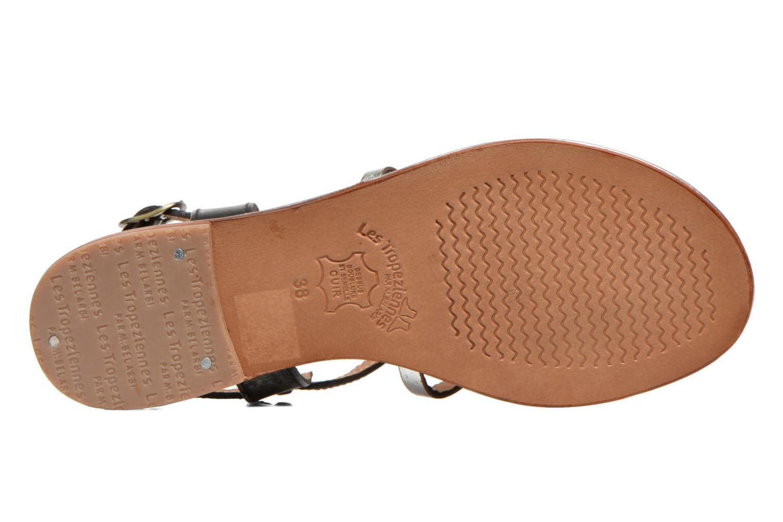 Sandales et nu-pieds Les Tropéziennes par M Belarbi Bantou Noir vue haut