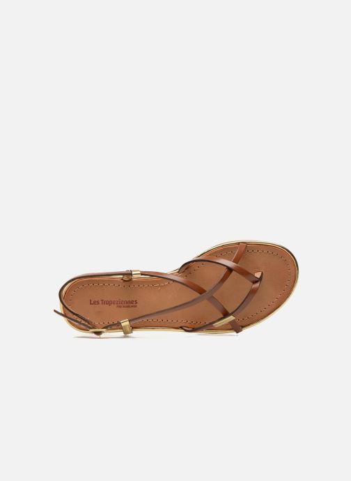 Sandali e scarpe aperte Les Tropéziennes par M Belarbi Monaco Marrone immagine sinistra