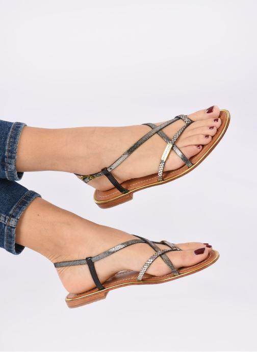 Sandali e scarpe aperte Les Tropéziennes par M Belarbi Monaco Nero immagine dal basso