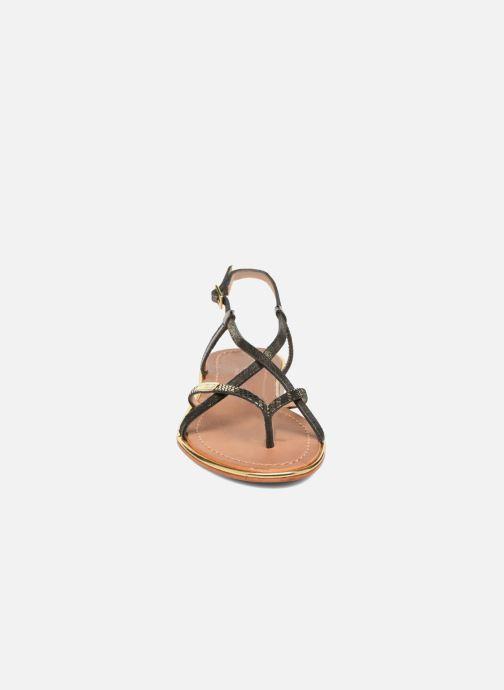 Sandalias Les Tropéziennes par M Belarbi Monaco Negro vista del modelo
