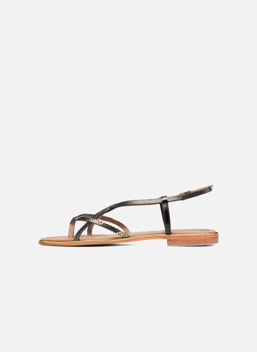 Sandales et nu-pieds Les Tropéziennes par M Belarbi Monaco Noir vue face