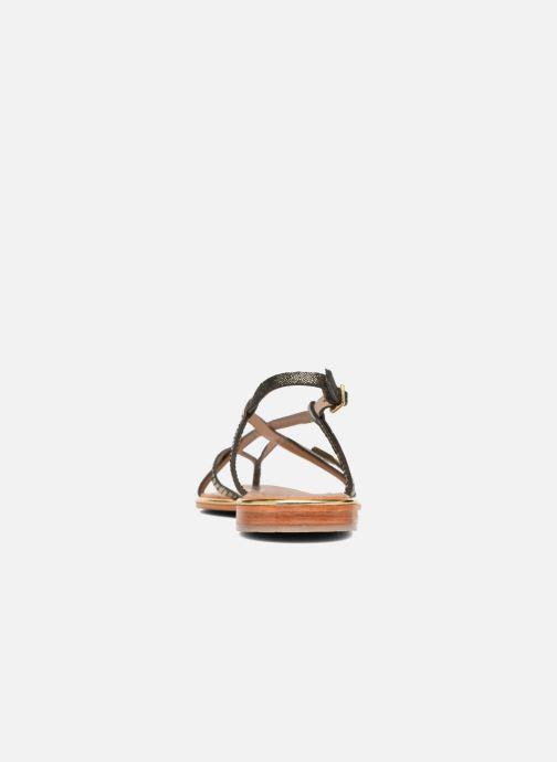 Sandalen Les Tropéziennes par M Belarbi Monaco schwarz ansicht von rechts