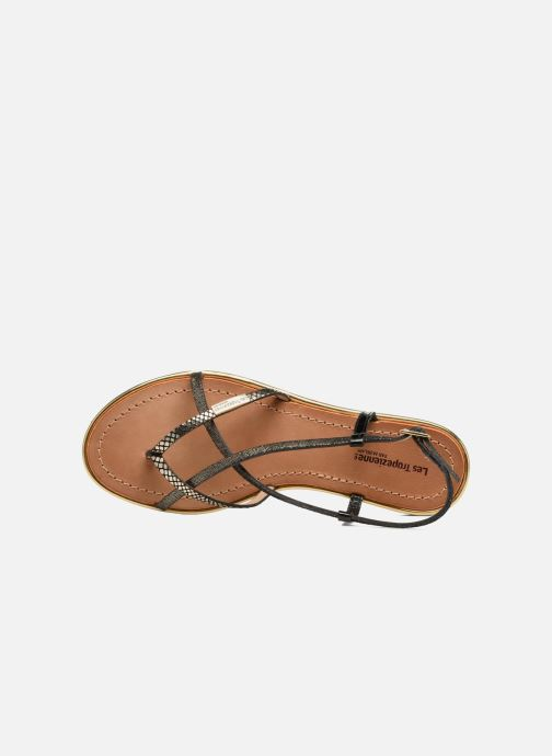 Sandali e scarpe aperte Les Tropéziennes par M Belarbi Monaco Nero immagine sinistra