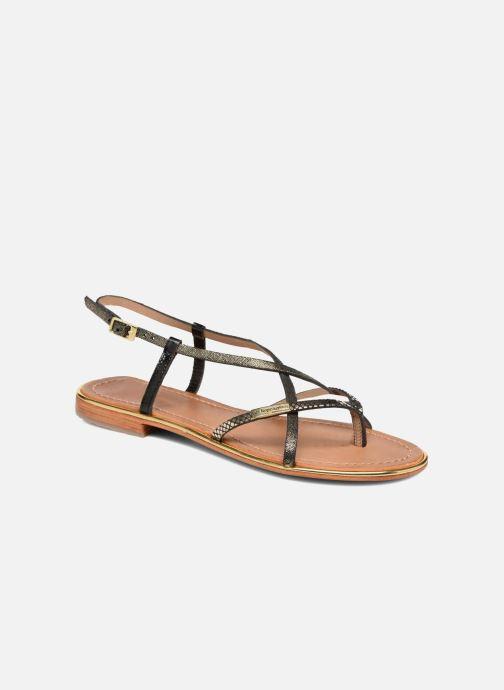 Sandales et nu-pieds Les Tropéziennes par M Belarbi Monaco Noir vue détail/paire
