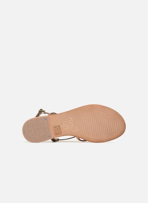 Sandales et nu-pieds Les Tropéziennes par M Belarbi Monaco Orange vue haut