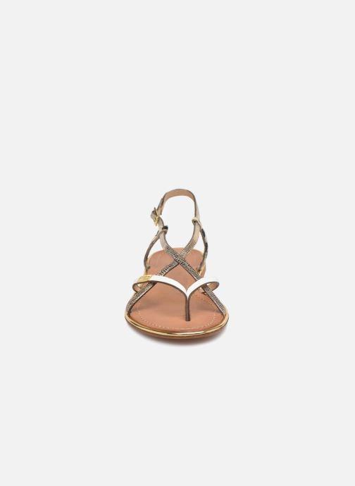Sandales et nu-pieds Les Tropéziennes par M Belarbi Monaco Blanc vue portées chaussures