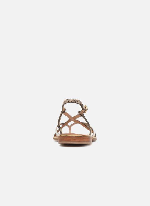 Sandales et nu-pieds Les Tropéziennes par M Belarbi Monaco Blanc vue droite
