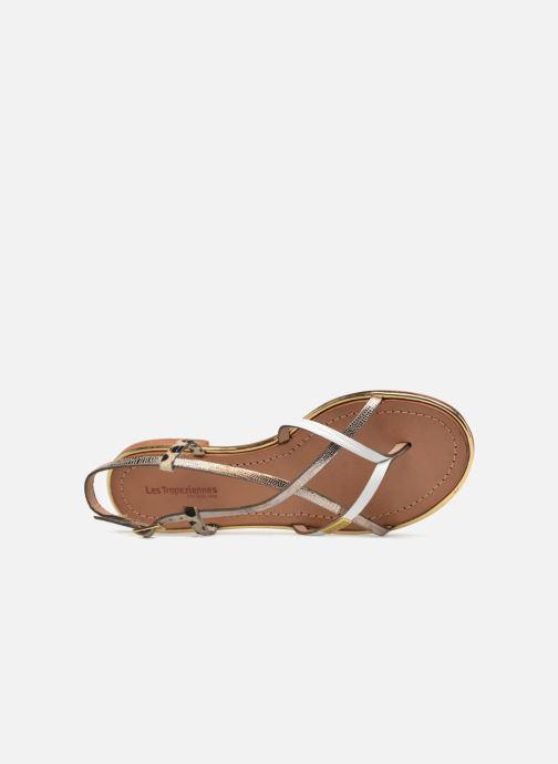 Sandales et nu-pieds Les Tropéziennes par M Belarbi Monaco Blanc vue gauche