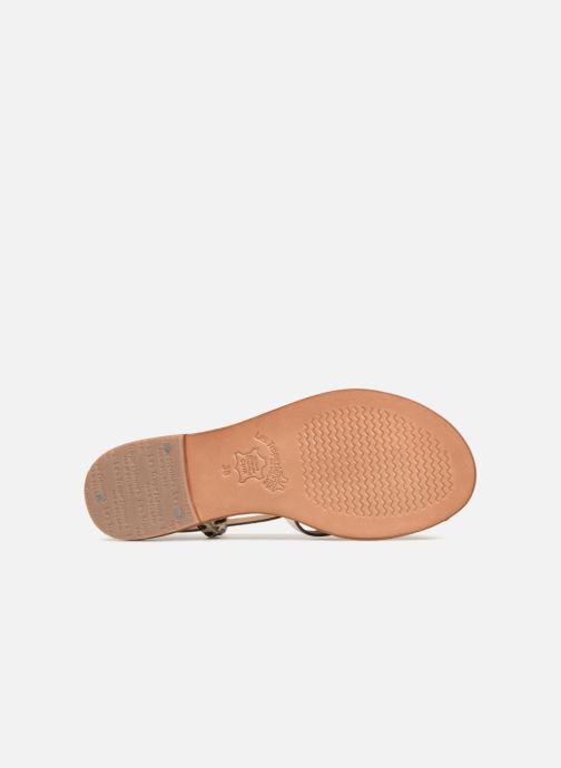 Sandales et nu-pieds Les Tropéziennes par M Belarbi Monaco Blanc vue haut