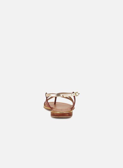 Sandales et nu-pieds Les Tropéziennes par M Belarbi Monaco Or et bronze vue droite