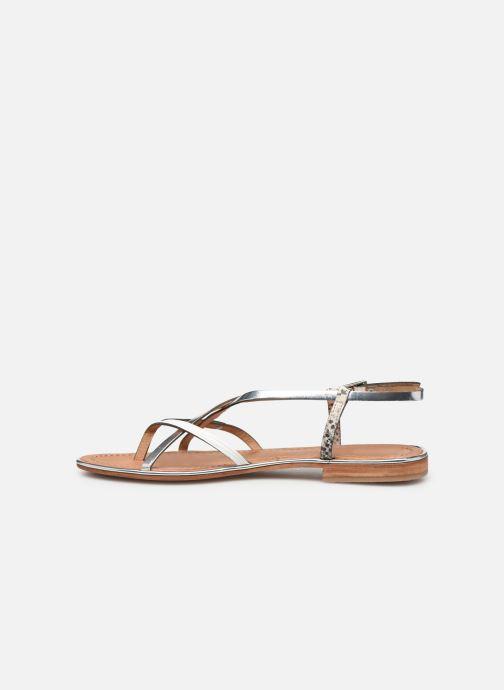 Sandals Les Tropéziennes par M Belarbi Monaco Silver front view