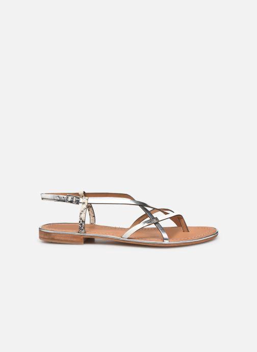 Sandales et nu-pieds Les Tropéziennes par M Belarbi Monaco Argent vue derrière