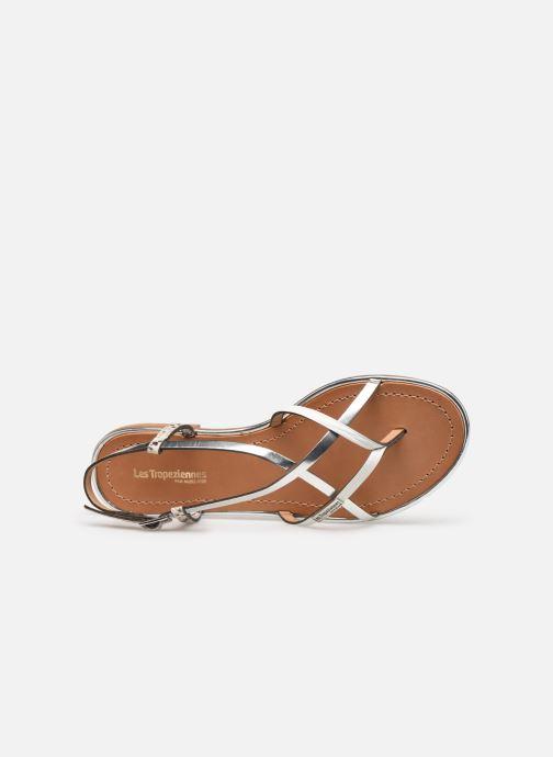 Sandales et nu-pieds Les Tropéziennes par M Belarbi Monaco Argent vue gauche