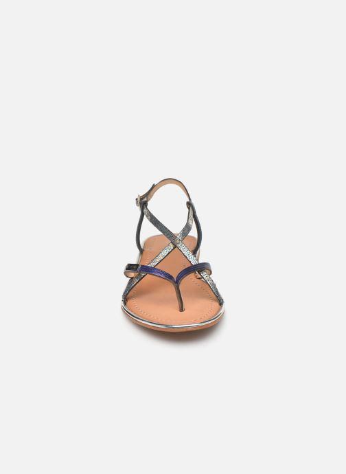Sandales et nu-pieds Les Tropéziennes par M Belarbi Monaco Argent vue portées chaussures