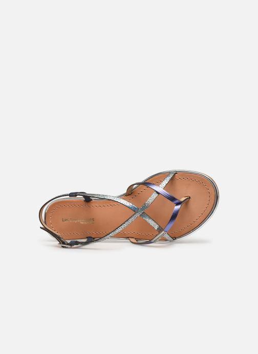 Sandali e scarpe aperte Les Tropéziennes par M Belarbi Monaco Argento immagine sinistra
