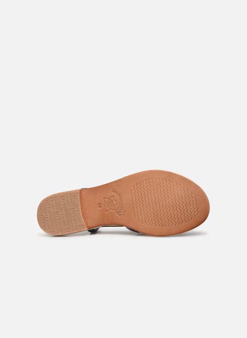 Sandales et nu-pieds Les Tropéziennes par M Belarbi Monaco Argent vue haut