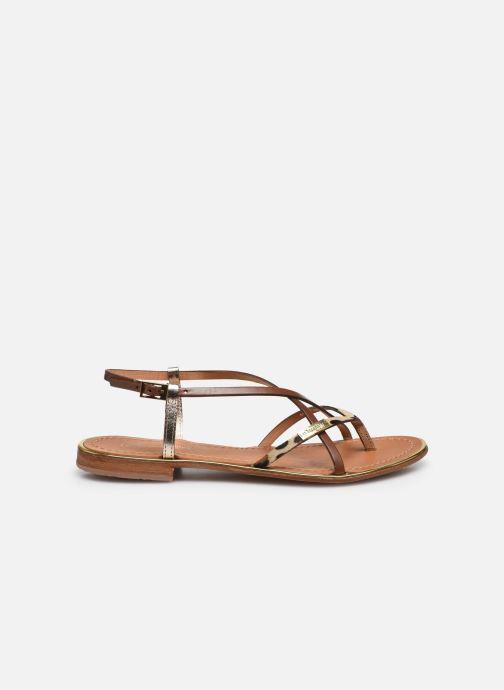 Sandales et nu-pieds Les Tropéziennes par M Belarbi Monaco Marron vue derrière