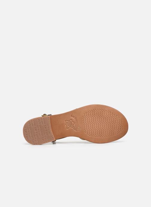 Sandales et nu-pieds Les Tropéziennes par M Belarbi Monaco Marron vue haut