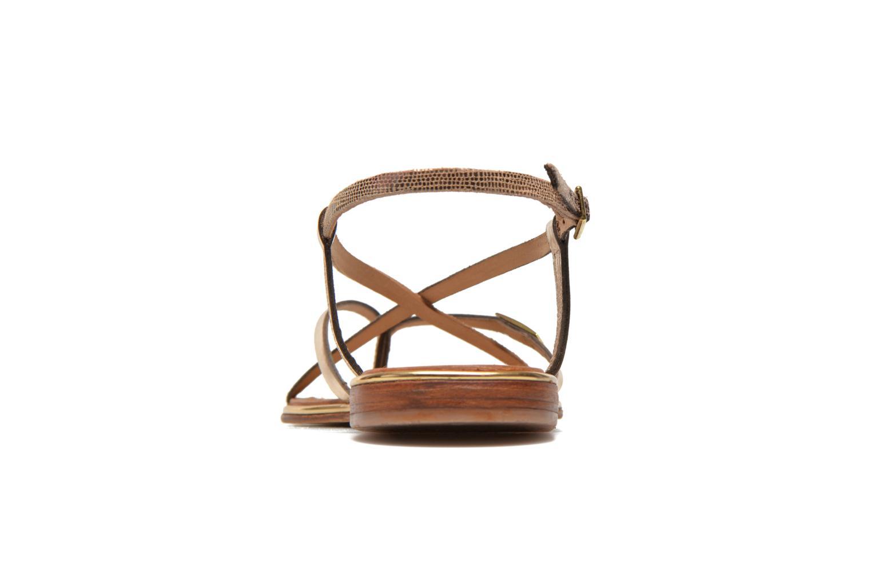 Sandalen Les Tropéziennes par M Belarbi Monaco mehrfarbig ansicht von rechts