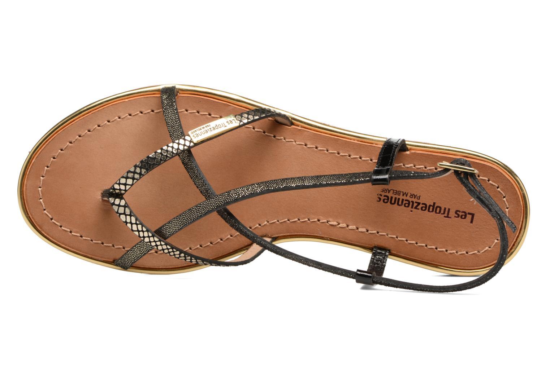 Sandales et nu-pieds Les Tropéziennes par M Belarbi Monaco Noir vue gauche