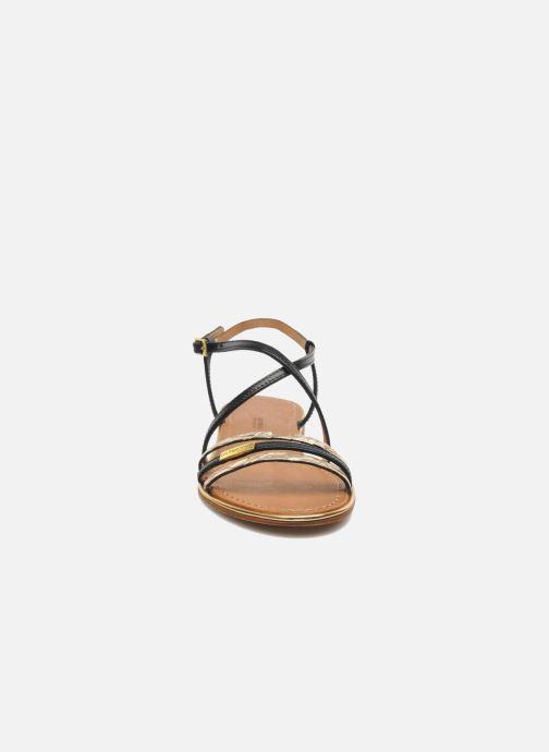 Sandales et nu-pieds Les Tropéziennes par M Belarbi Balise Noir vue portées chaussures