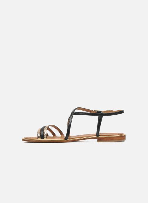 Sandales et nu-pieds Les Tropéziennes par M Belarbi Balise Noir vue face